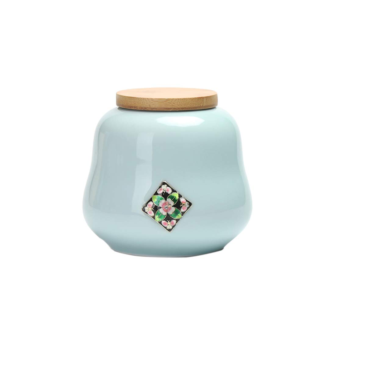 bluee Two-piece bluee Two-piece Runtongshanghang Heavenly Home Pet Keepsake,Pet Urn,Cremation Urns For Pets,Functional Urn,Ceramic Sealed,Moisture Proof,Keepsake Box For Dogs And Cats(bluee) (color   bluee, Size   Two-piece)