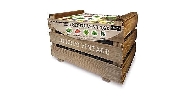 Kit Huerto Vintage Batlle: Amazon.es: Jardín