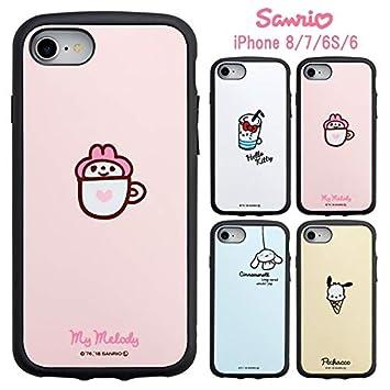 【カラー:ポチャッコ】iPhone8 iPhone7 iPhone6S iPhone6 サンリオ IJOY ケース アイジョイ ソフトケース ソフト