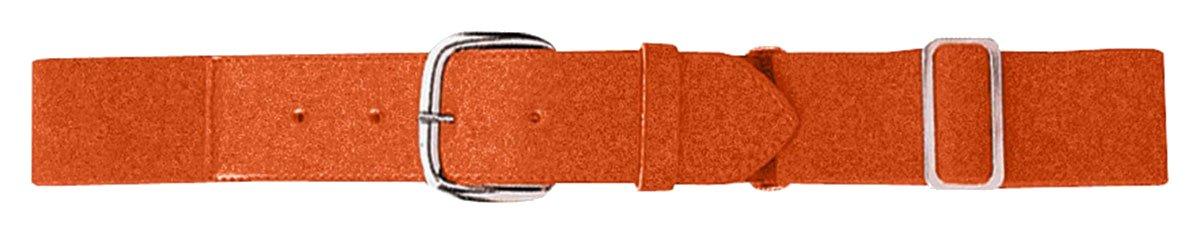 Augusta Sportswear Youth Elastic Baseball Belt One Size ORANGE