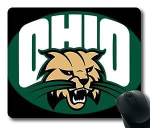 NCAA Ohio Bobcats Logo Rectangle Mouse Pad by eeMuse