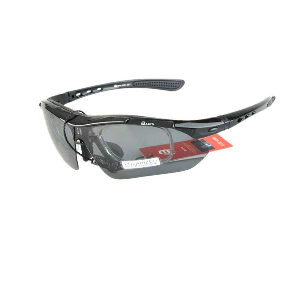 YHDD サイクリングメガネ自転車変色メガネアウトドアサイクリング愛好家に最適なアダルトアウトドアメガネ。 (色 : ブラック)  ブラック B07QVXX8H5