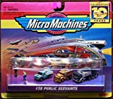 Micro Machines Public Servants #38 Collection