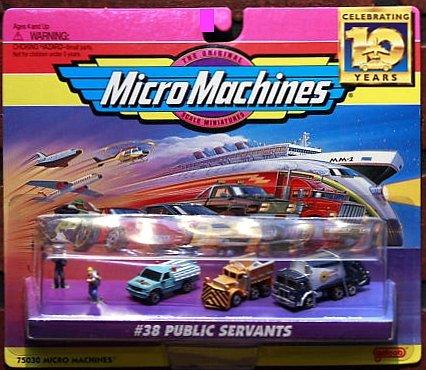 Micro Machines Public Servants #38 Collection