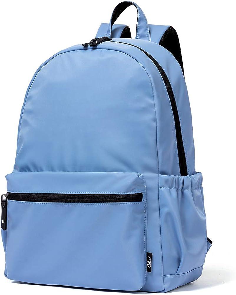 CLUCI Backpack Purse for Women Nylon Fashion Large Lightweight School Travel laptop Waterproof Ladies Shoulder Bag