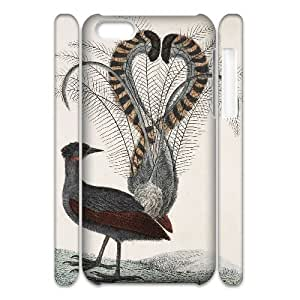 Lyrebird 3D-Printed ZLB570906 Personalized 3D Phone Case for Iphone 5C