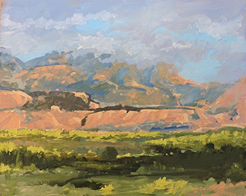 Afternoon in La Sal (Mountain Paintings Sale For)
