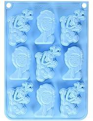 ScrapCooking Disney Frozen & Olaf Silicone Mould, Blue