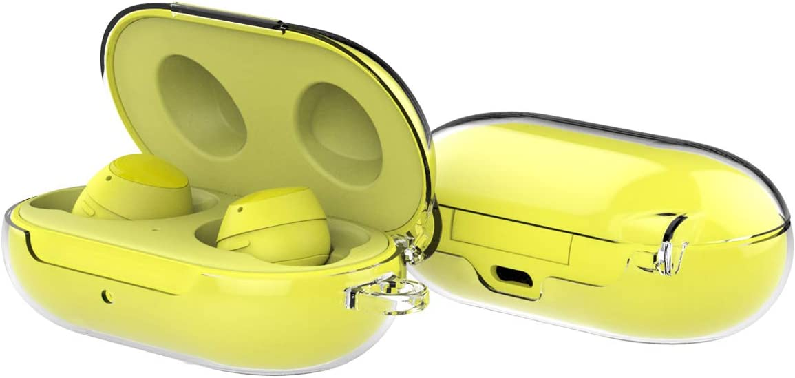 Released in 2020 Polycarbonate case for Galaxy Buds and Buds+ no Need Adhesive case Transparent and Hard araree Buddy Compatible with Samsung Galaxy Buds and Buds Plus Clear