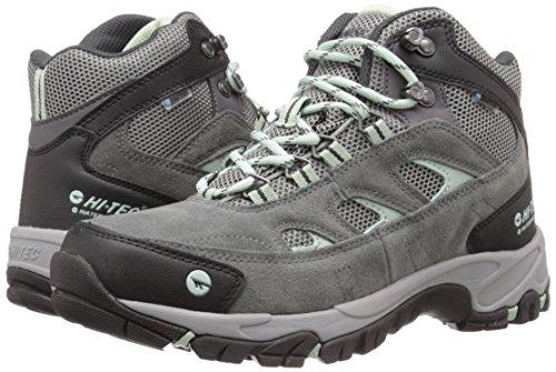 Hi-Tec Women's WN Logan Mid Waterproof Hiking Boot, Charcoal/Cool Grey/Lichen, 5 M US by Hi-Tec (Image #6)