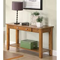 Coaster Home Furnishings Casual Sofa Table, Oak