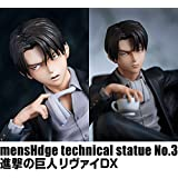 mensHdge technical statue No.3 進撃の巨人 【リヴァイDX】≪HMV ONLINE・Loppi・ユニオンクリエイティブオンライン限定≫