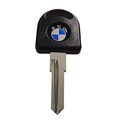 ihave BLANK KEY for BMW E21 E12 E30 E24 E28 SERIES 3 5 7 M3 M5 BLACK: Automotive