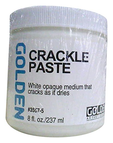 Golden Crackle Paste-8 ounce (Crackle Paste)