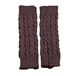 Chytaii Arm Warmer Fingerless Arm Gloves Knitted Arm Warmers Women Winter Wrist Arm Hand Warmer Arm Sleeve Fingerless…