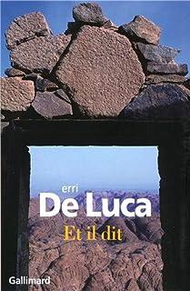 Et il dit : [roman], De Luca, Erri