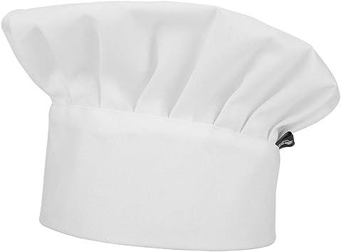 IBLUELOVER Toque Cuisinier Professionnelle Chapeau de Chef /Élastique R/églable Bonnet de Cuisine Travail Chef Cap Restaurant Caf/é Chapeau Francais Respirant Maille Chapeau de G/âteau Boulanger