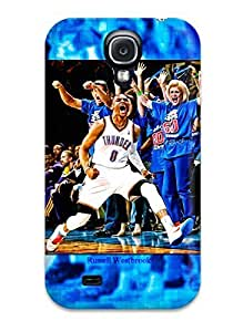 9593719K671356036 oklahoma city thunder basketball nba gq NBA Sports & Colleges colorful Samsung Galaxy S4 cases