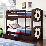 Major-Q Soccer Star Twin Bunk Bed