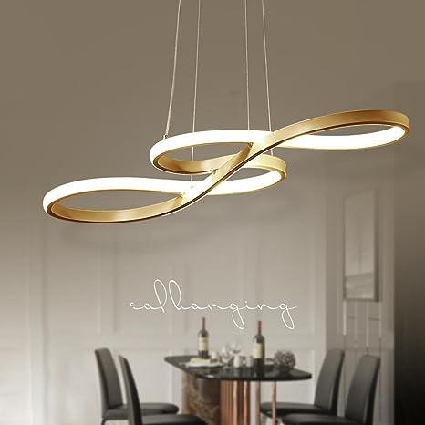 LED 60 W lustre moderna mesa lámpara de techo luz de techo ...