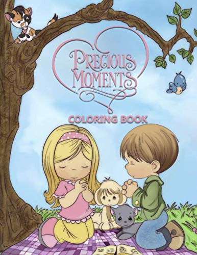 Precious Moments Coloring Book: Exclusive Coloring Book for Kids, Activity Book, Great Starter Book for Children (Coloring Book for Relaxation and for Kids)