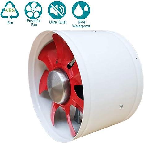 250mm Ventilador Extractor de Aire Silencioso 2100m³/h ABS para ...