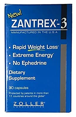 Zantrex-3 Dietary Supplement - 30 CT by Zantrex