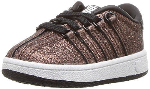 K-Swiss Baby Classic VN Sneaker, Bronze Sparkle, 8 M US Toddler ()