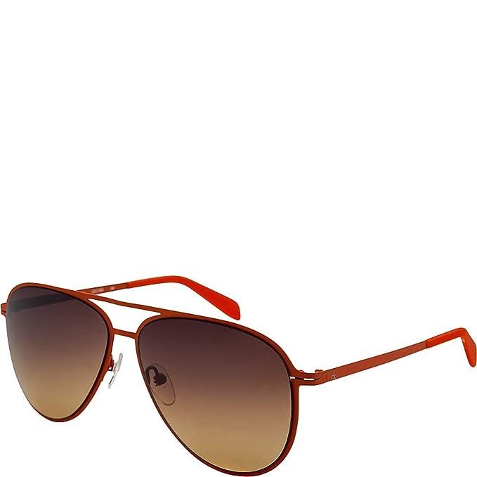 Calvin Klein Gafas de Sol CK-2138S-286 (59 mm) Naranja ...