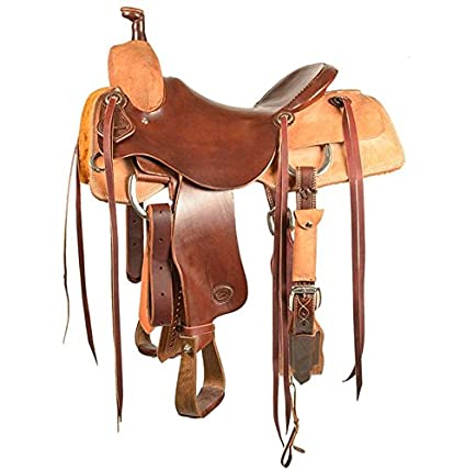 1912abb7c Amazon.com : SOUTH TEXAS TACK STT Ranch Cutter Saddle - Half ...