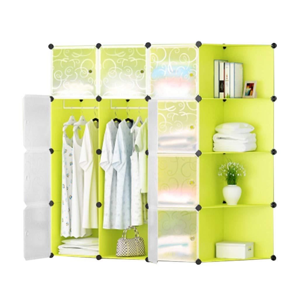 Sciever- Multifunctional Storage Wardrobe, Modern Minimalist Modular Combination Wardrobe - Home Clothing Books Toys Storage Simple Wardrobe by Sciever Combination wardrobe