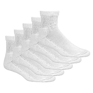 Dr. Scholl's Diabetes & Circulatory Ankle Sock 5-Pair Bundle Package