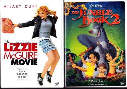 The Jungle Book 2 , the Lizzie Mcguire Movie : Walt Disney 2 Pack