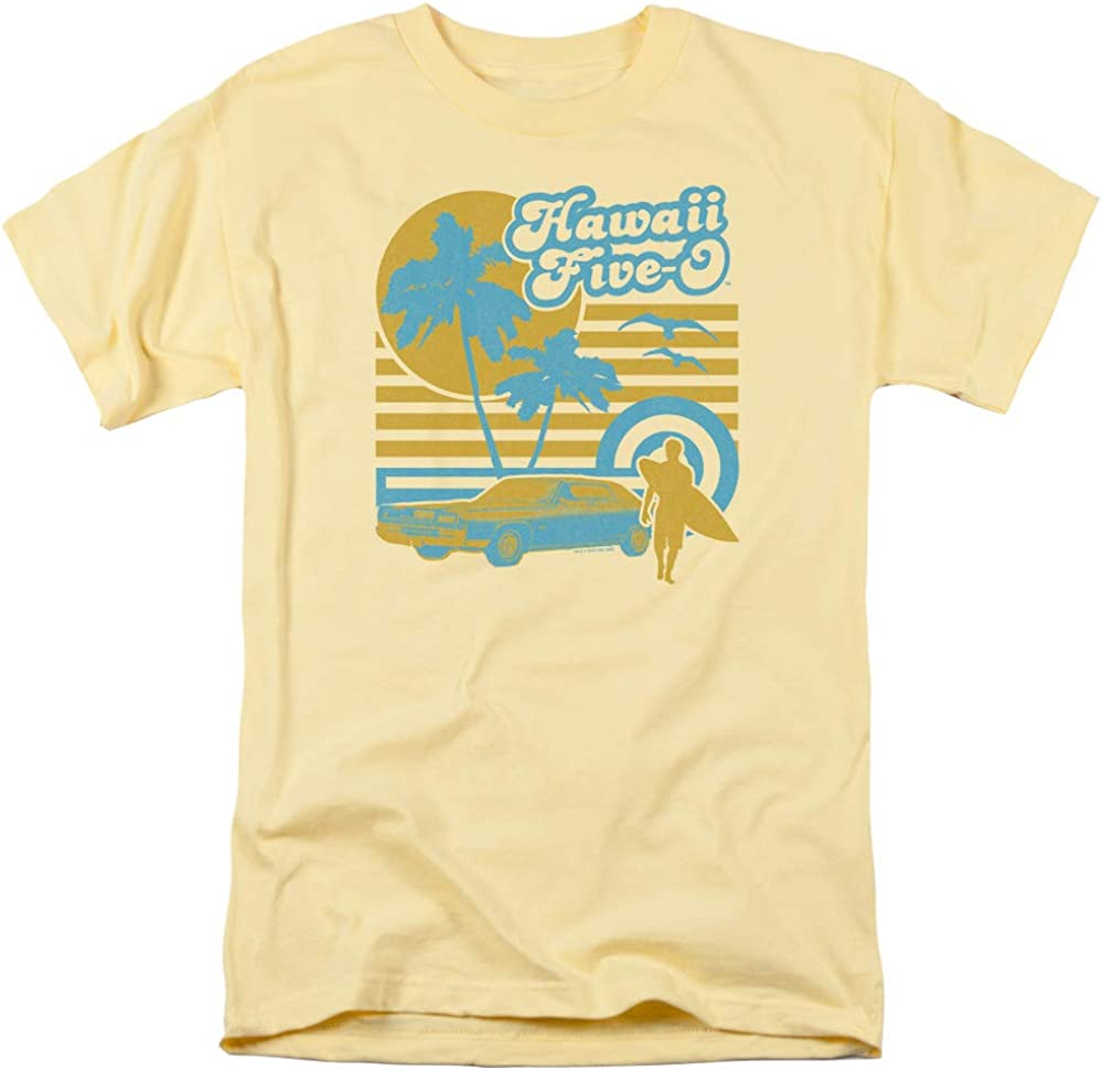 A&E Designs Hawaii 5 0 T-Shirt Surfer Banana Tee