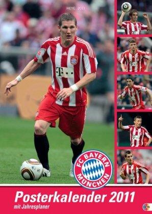 FC Bayern München. 2011. Posterkalender mit Jahresplaner