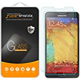 [2-Pack] Supershieldz for Samsung Galaxy Note 3 Tempered Glass Screen Protector, Anti-Scratch, Anti-Fingerprint, Bubble Free, Lifetime Replacement Warranty
