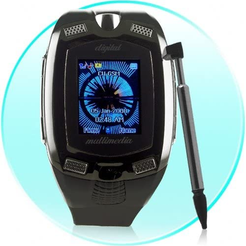 Amazon Com Quad Band Watch Mobile Phone With Dual Channel Bluetooth Headset 1gb T F Card