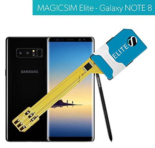 MAGICSIM Elite pour iPhone X/ /Adaptateur Double SIM