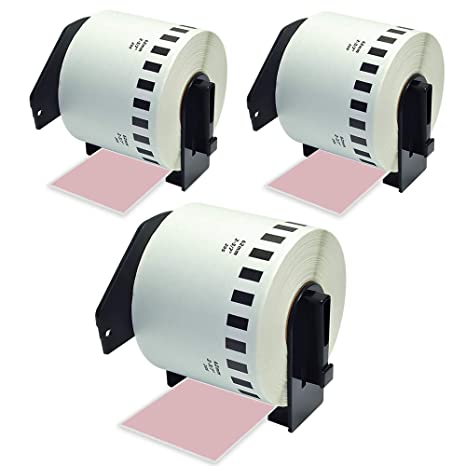 5 PK 62mm DK-2205 Continuous Paper Label W//Frame for Brother DK2205 QL-650TD 700