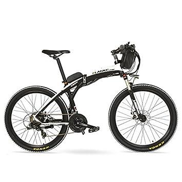 Gp 26 Inches Fashion Electric Quick Folding Mountain Bike 48v 12ah
