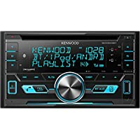 Kenwood DPX503 Dual-DIN USB/AAC/WMA/MP3 CD Receiver with External Media Control