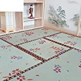 Tatami mats/stepping on the rice mat/ tatami mattress/kang mat/bay window mat/coconut mat-A 35x35cm(14x14inch)