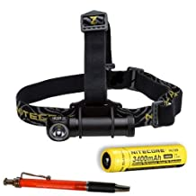Nitecore HC30 1000 Lumen Headlamp w/NL189 3400mAh Battery