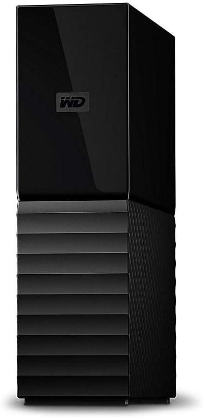 Western Digital My Book 8TB External Hard Drive, WDBBGB0080HBK-NESN, Black
