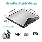 External CD DVD Drive, VersionTECH. USB 3.0
