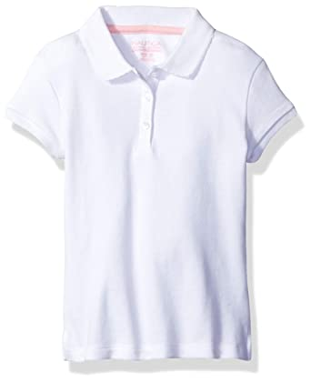 Nautica Girls Short Sleeve Polo, White, Large/6: Amazon.es: Ropa ...