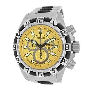 Roberto Bianci Men's 7064ttgun_yel Pro Racing Watch