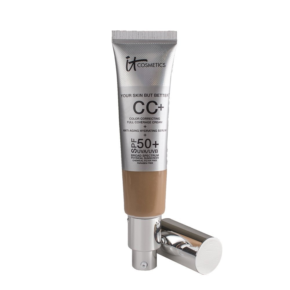 Your Skin But Better CC Cream with SPF 50+, Tan 1.08 fl oz by It Cosmetics