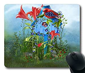 "Star Spangled Birdie Custom Rectangle Mouse Pad Oblong Gaming Mousepad in 220mm*180mm*3mm (9""*7"") -922028"