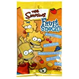 Taste of Nature Simpson's Fruit Snacks, 2.25-Ounce Bags (Pack of 48)